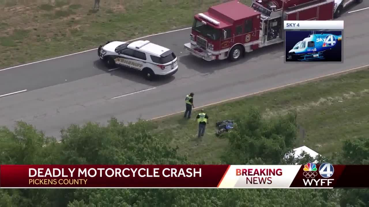 Coroner called to deadly motorcycle crash