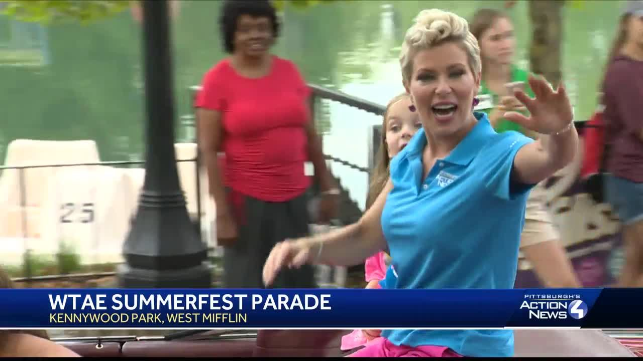 WTAE visits Kennywood for annual Summerfest parade