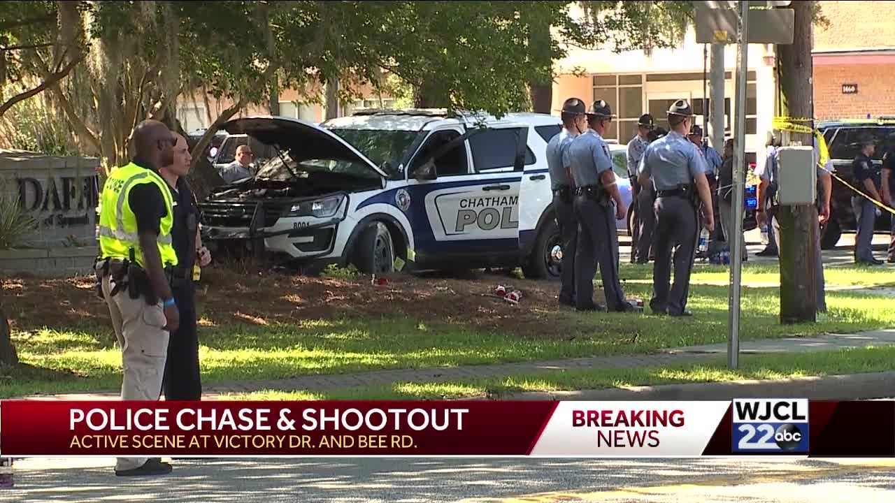 Update on Savannah police chase, shootout