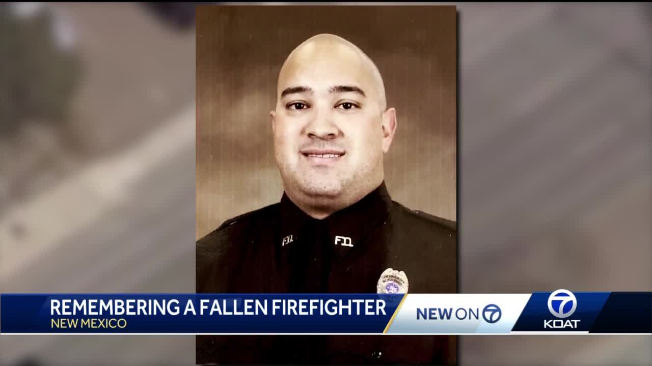 NM first responders remember fire lieutenant who died from COVID-19 at age 35