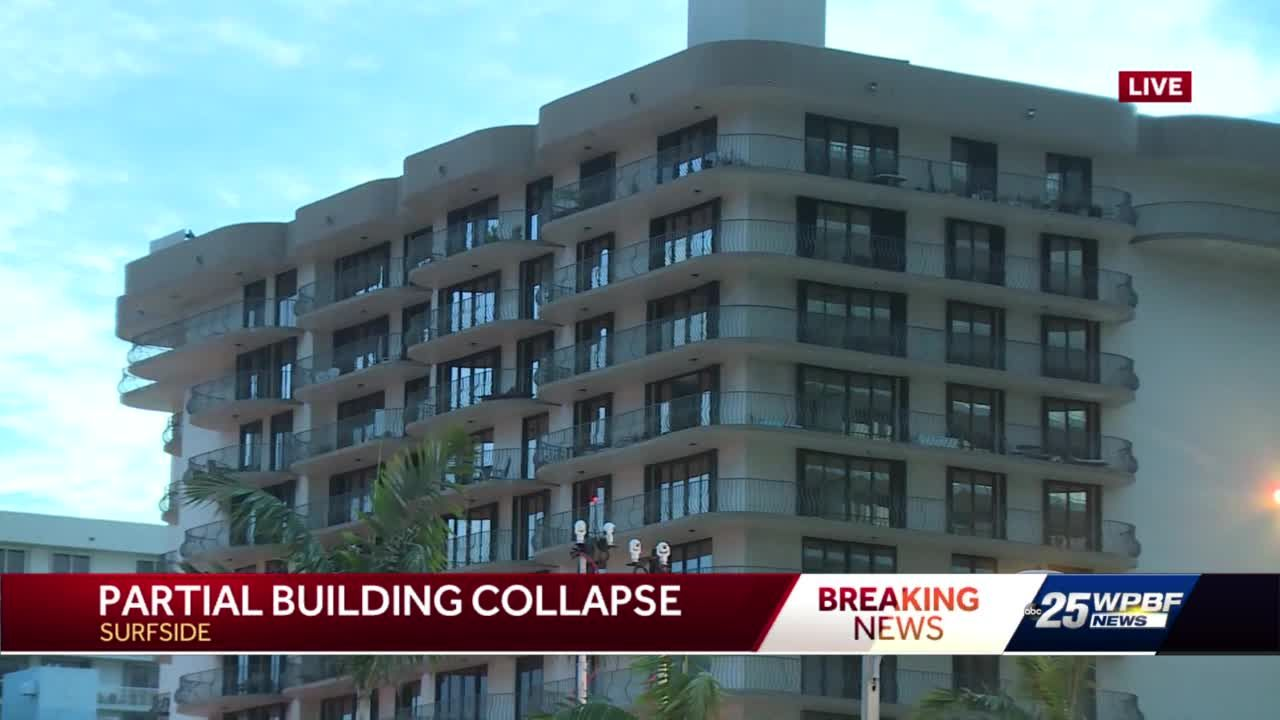 Miami apartment collapse kills one person