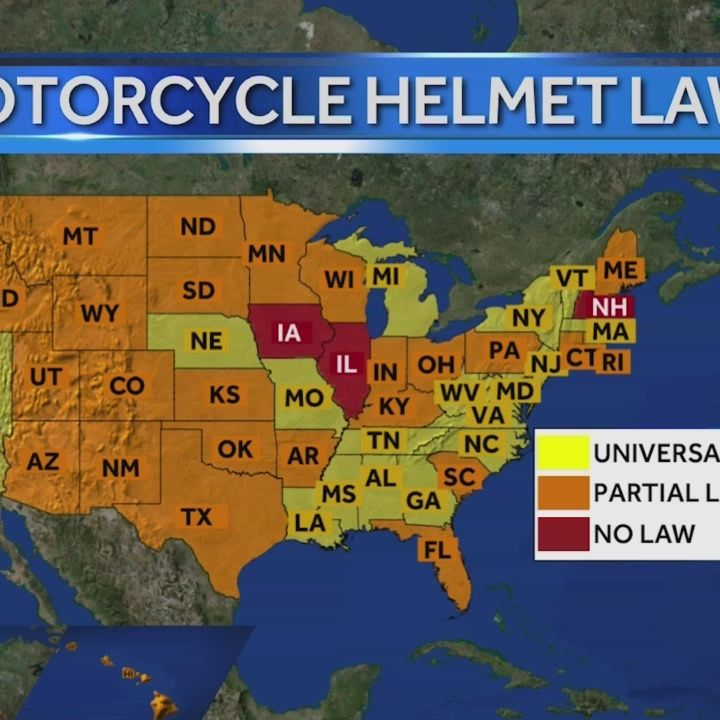 Rehab center wants helmet law in Iowa