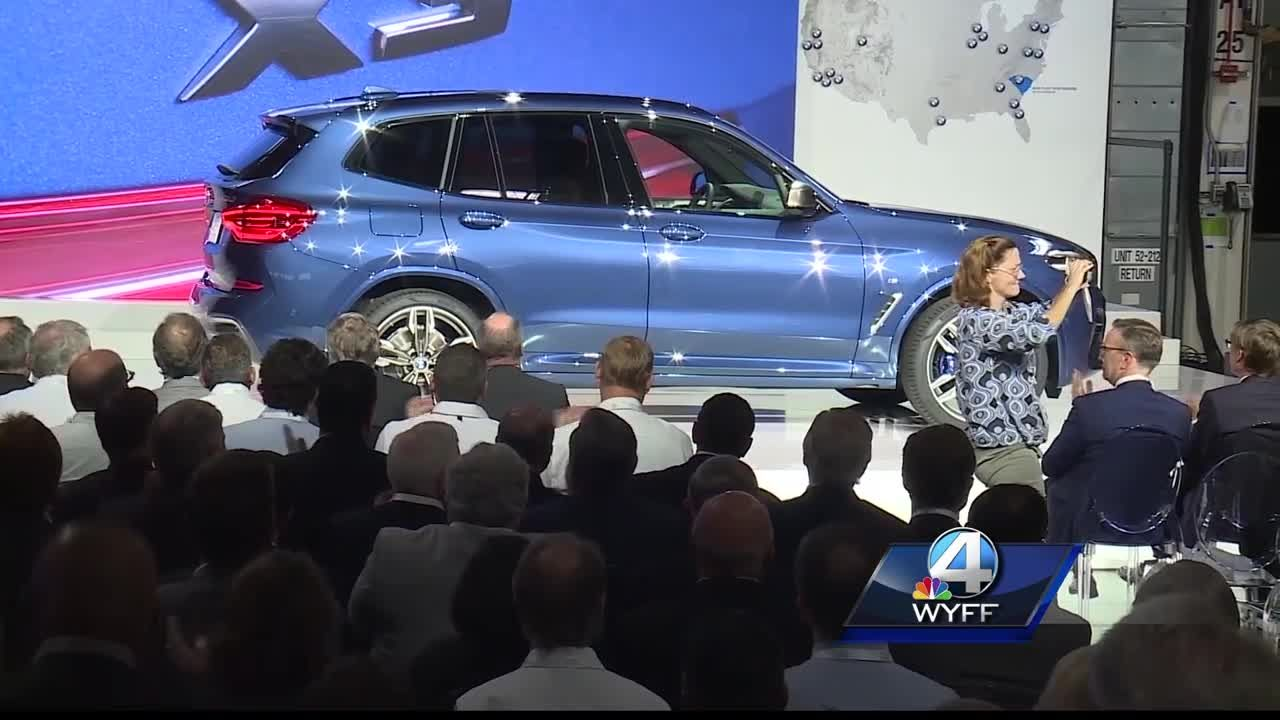 BMW North America Upstate plant turns 25 years old