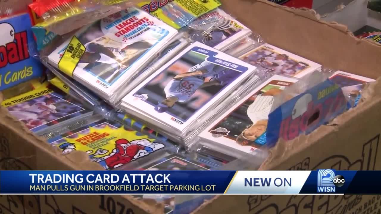 Man attacked over sports trading cards, police say