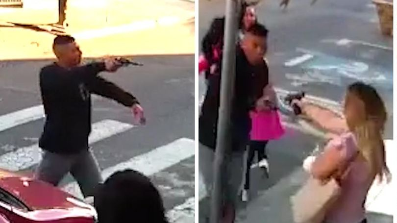 Graphic video: Mom fatally shoots gunman trying to rob families
