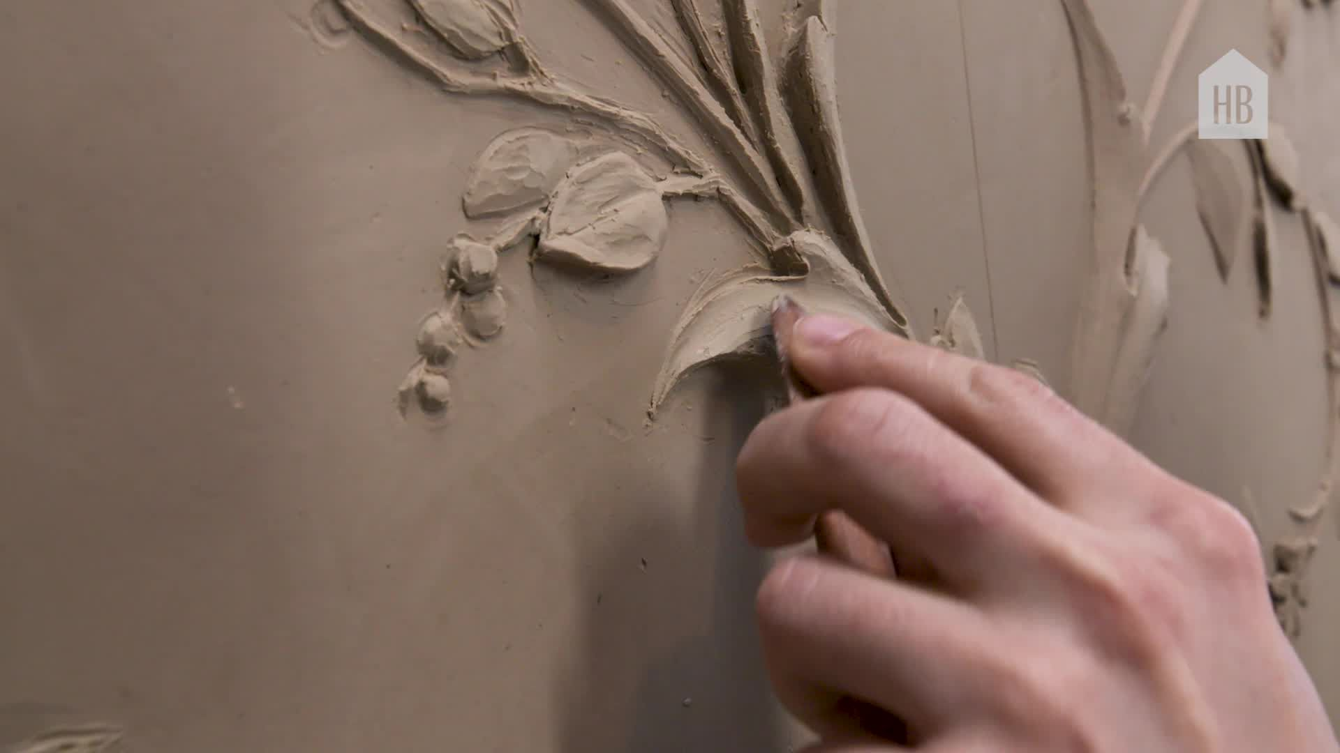 Inside the Intricate Process of Decorative Plaster