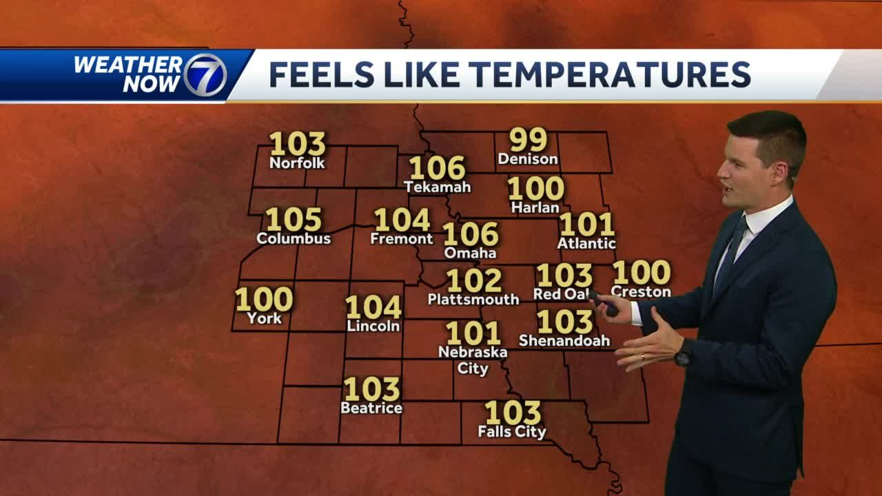 Heat Advisory remains in effect Thursday evening
