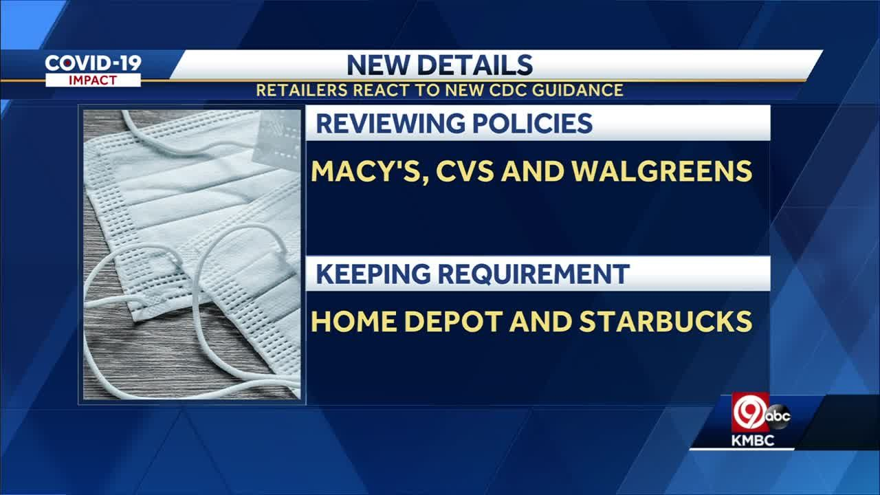 National retailers reviewing mask requirement: Home Depot, Starbucks keeping mask policy