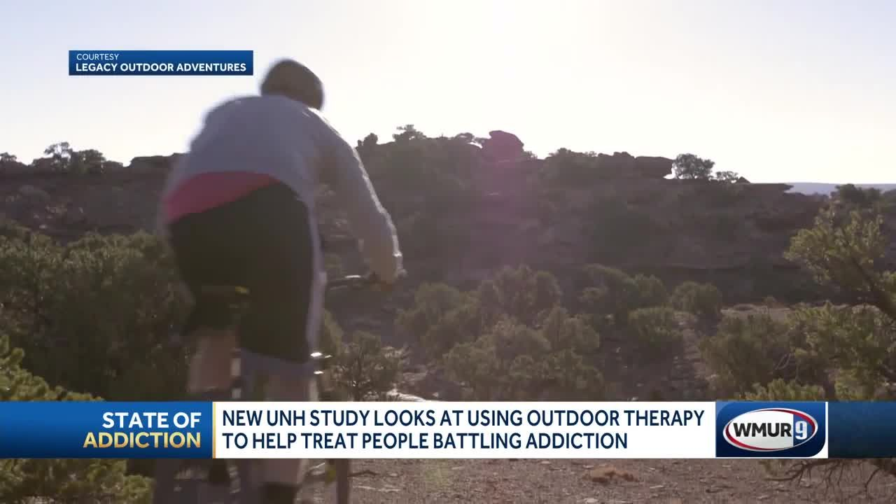UNH study analyzes whether outdoor therapy can help people battling  addiction