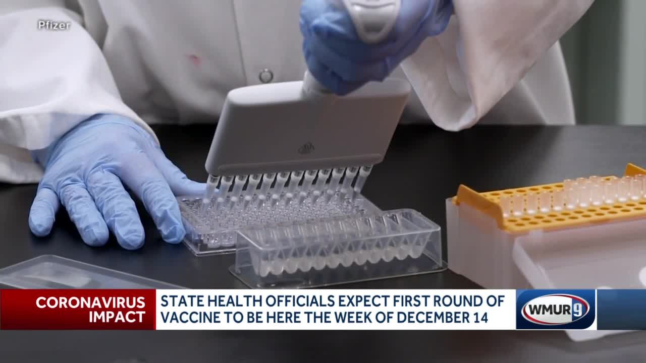 State health officials expect first round of vaccine to be in NH the week of Dec. 14