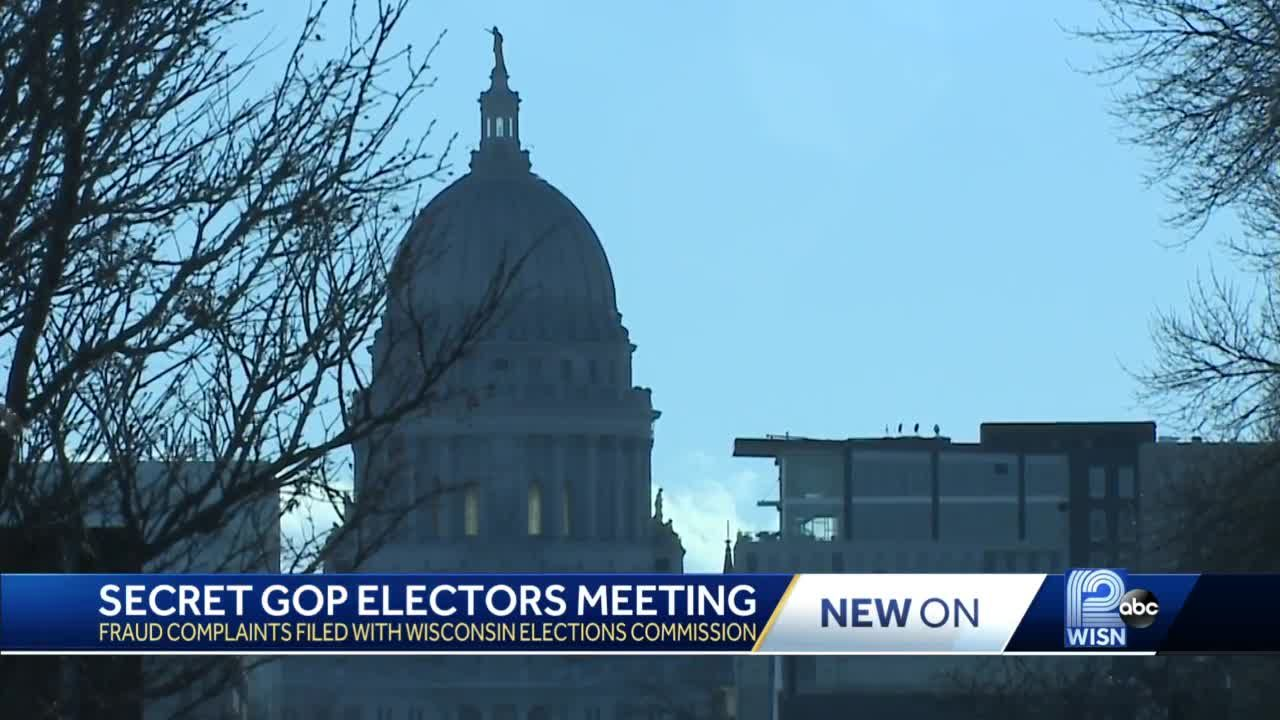 Group asks for investigation into Wisconsin's Republican electors meeting
