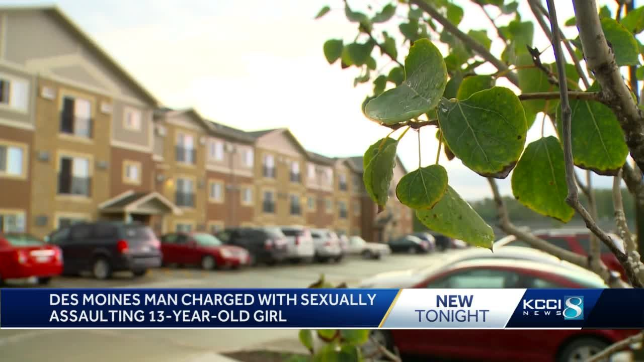 Des Moines man charged with sexually assaulting 13-year-old girl