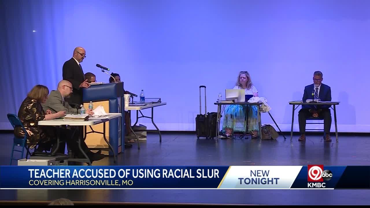 Hearing held for Harrisonville teacher accused of using racial slur