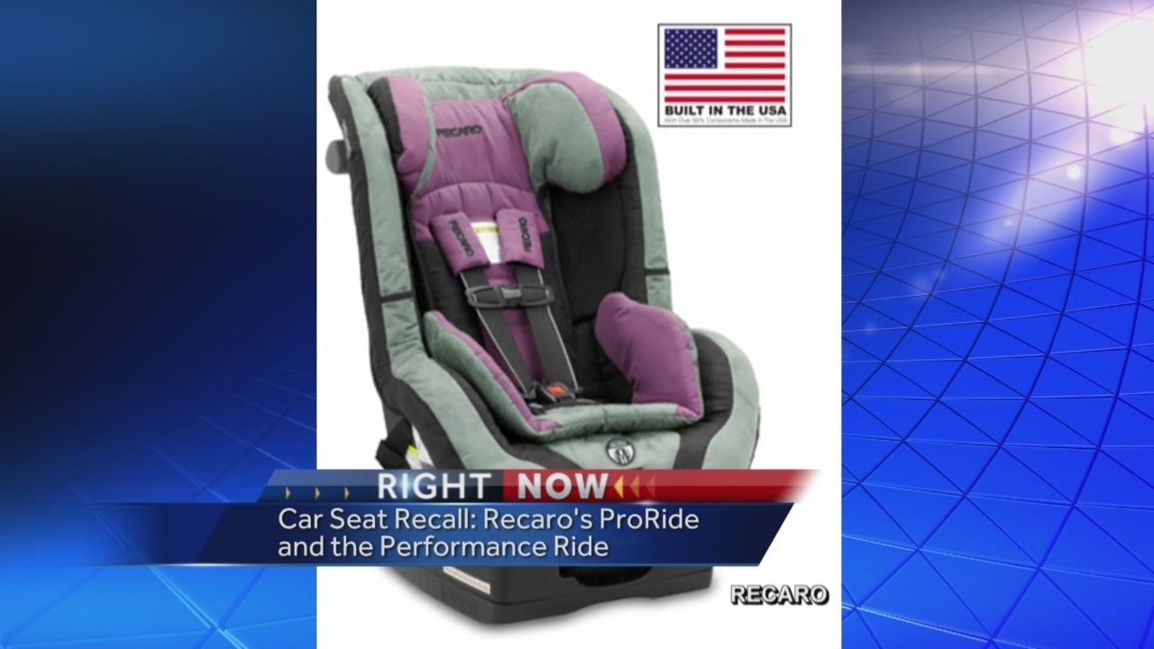 Thousands Of Recaro Car Seats Recalled