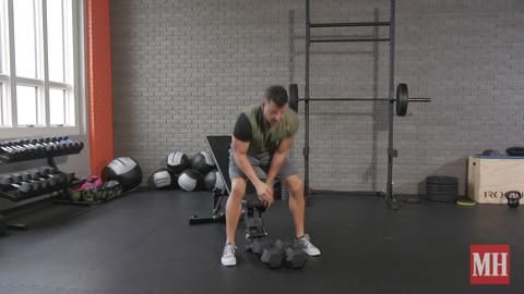 This Diabolical Drop Set Will Pump Up Your Shoulders and Chest