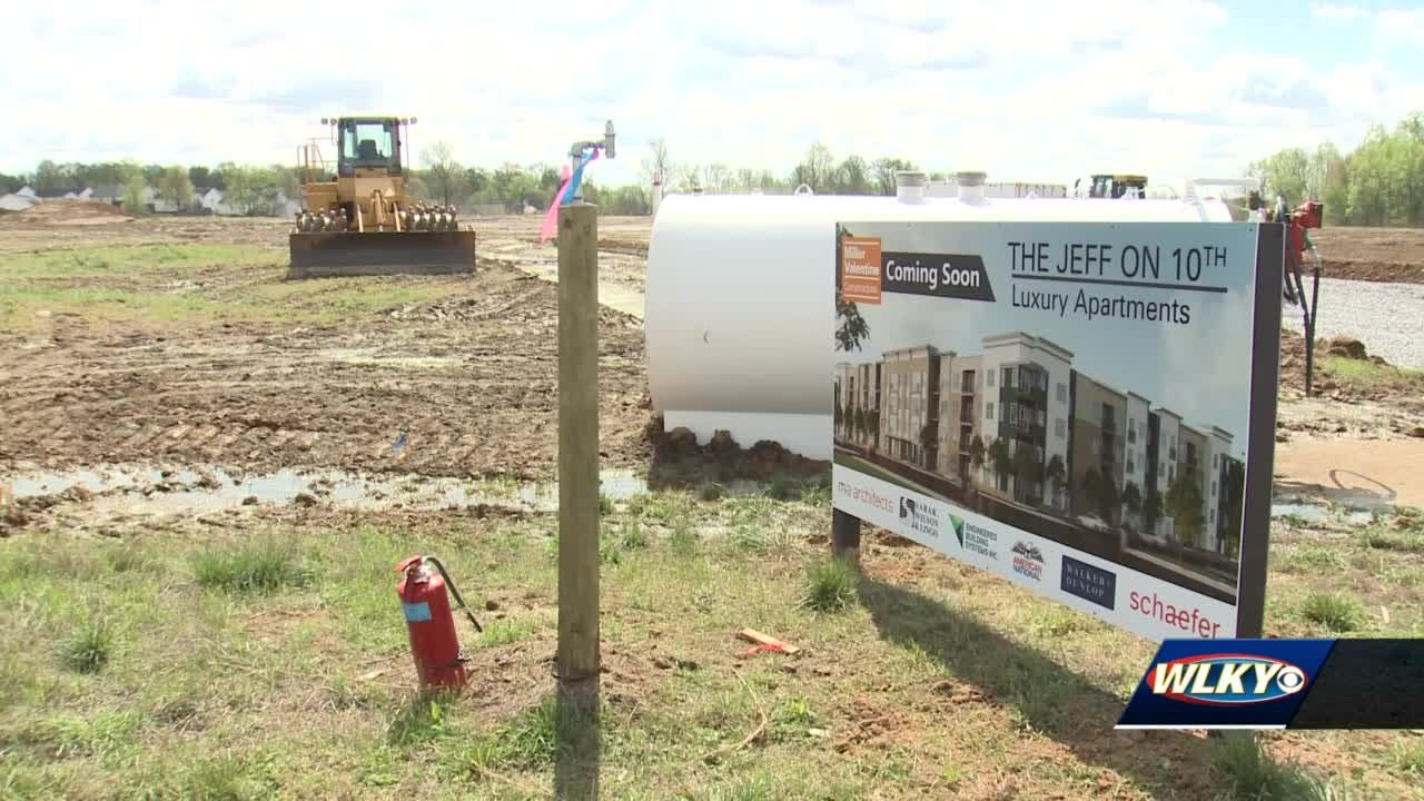 Luxury apartments among new developments coming to southern Indiana