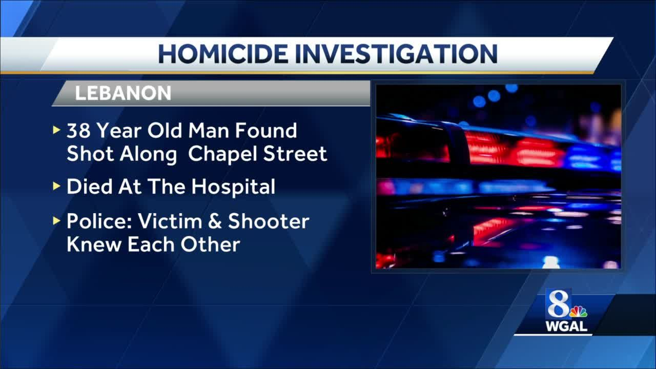 Lebanon man fatally shot after argument, police say
