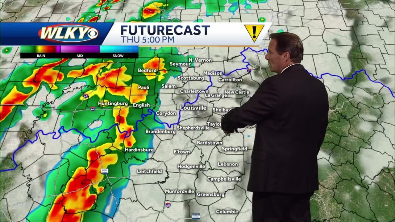 Rain and storms return for Thursday