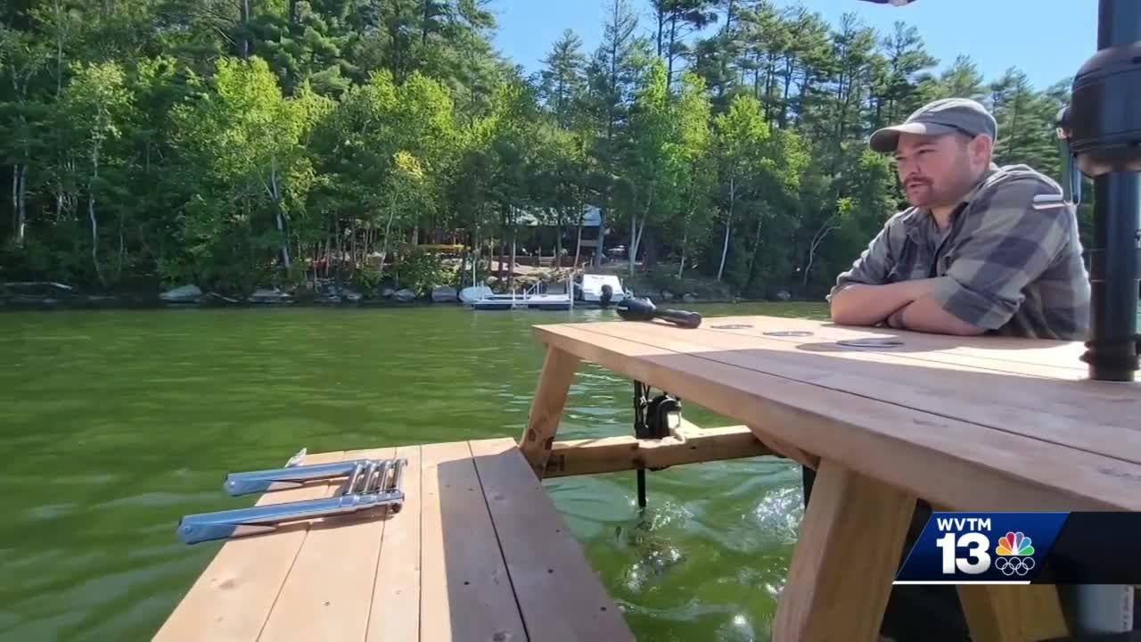 Picnic table boats growing popular on lakes in Maine