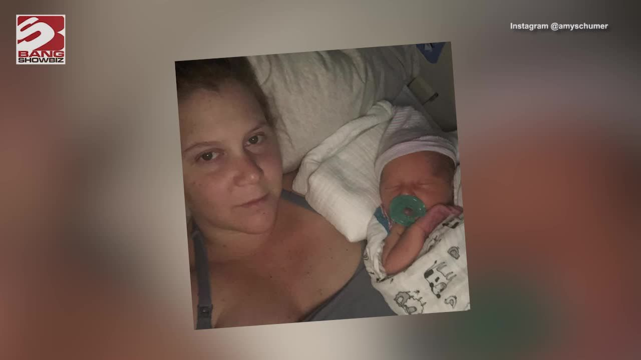 Amy Schumer Responds To Mom-Shamers With A Hilarious New Instagram Photo