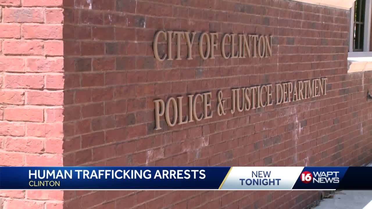 Clinton police make multiple arrest in undercover human trafficking  operation