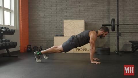 The Maniacal Way to Do Mountain Climbers
