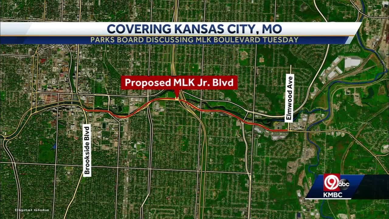 KC Parks Board will vote Tuesday on proposed MLK Jr. Boulevard