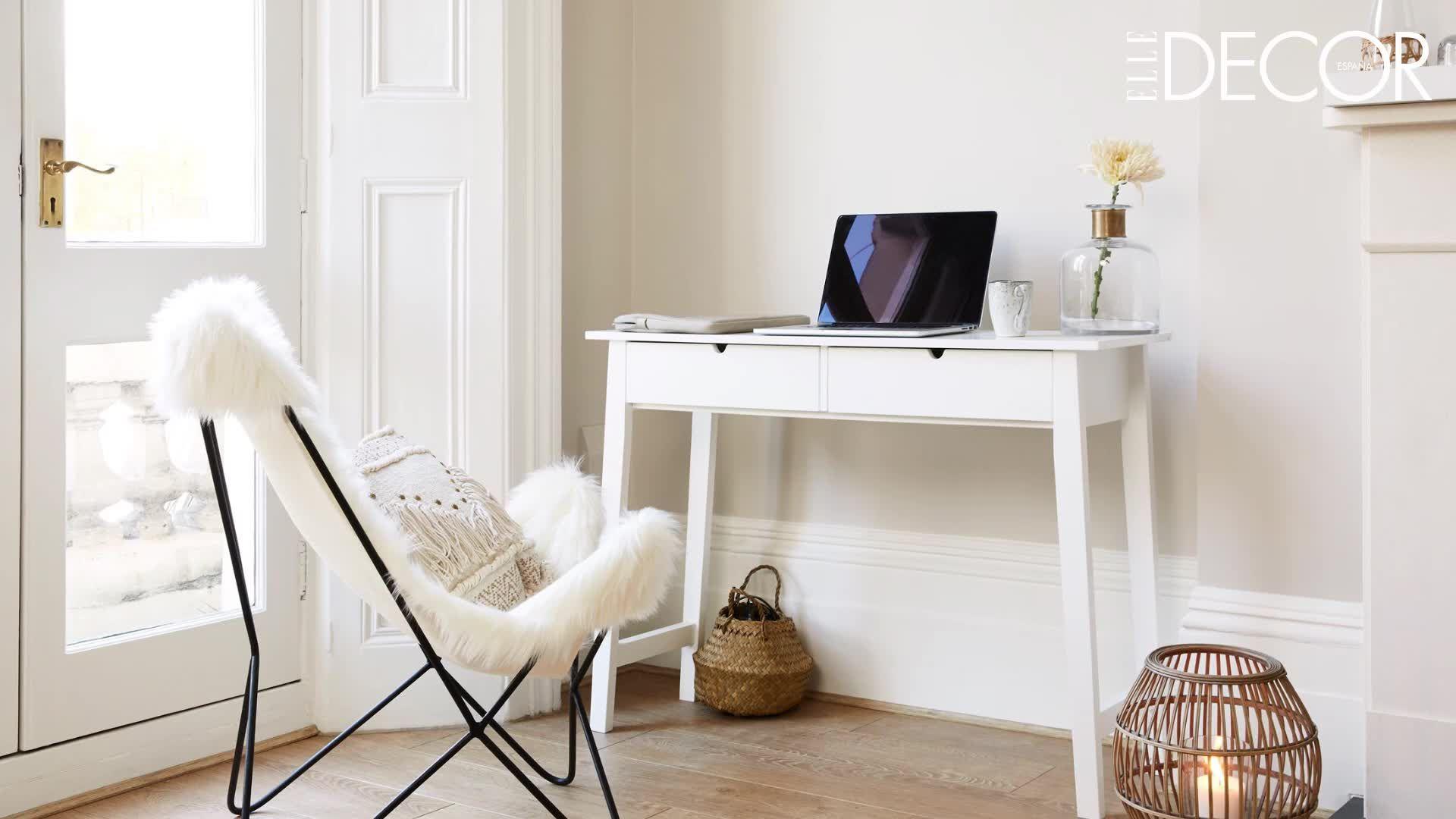 Cómo montar un espacio de trabajo en casa (por muy pequeña que sea)