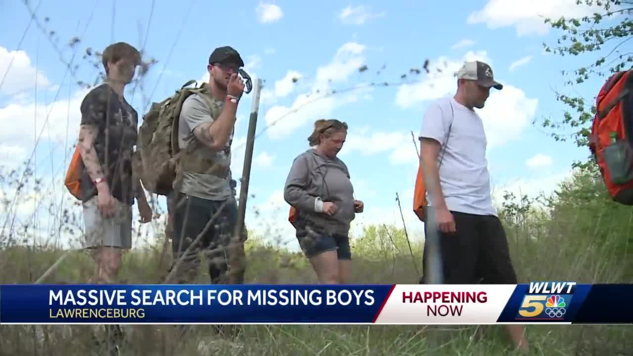 'We're not going to stop': Search continues for bodies of Nylo Lattimore, James Hutchinson