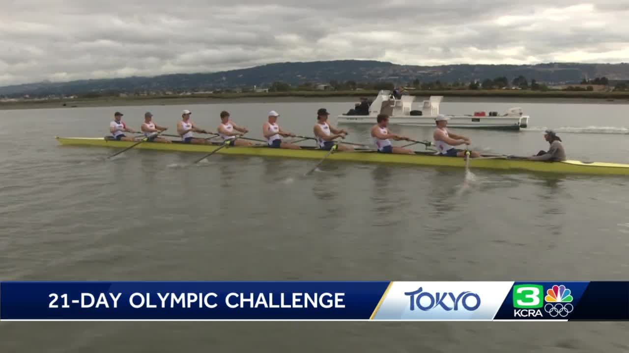 21-Day Challenge: Olympic rowers on benefits of getting up early