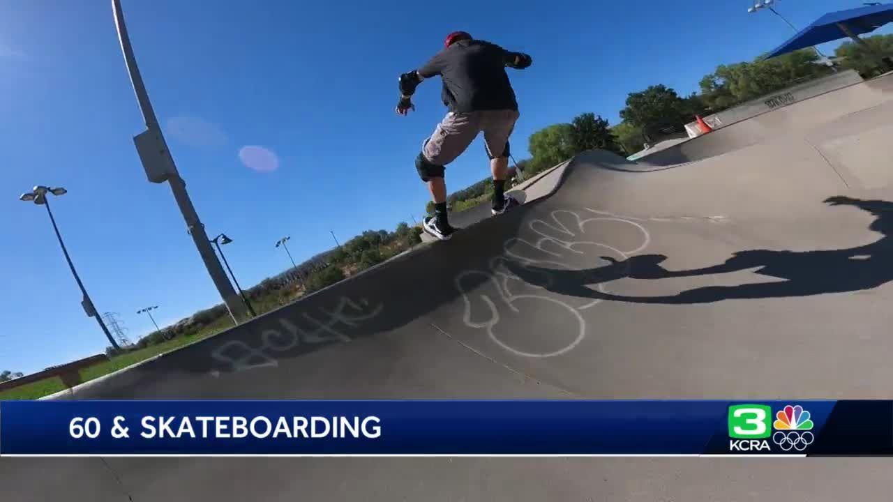 60-year-old Sacramento skateboarder is still flipping tricks