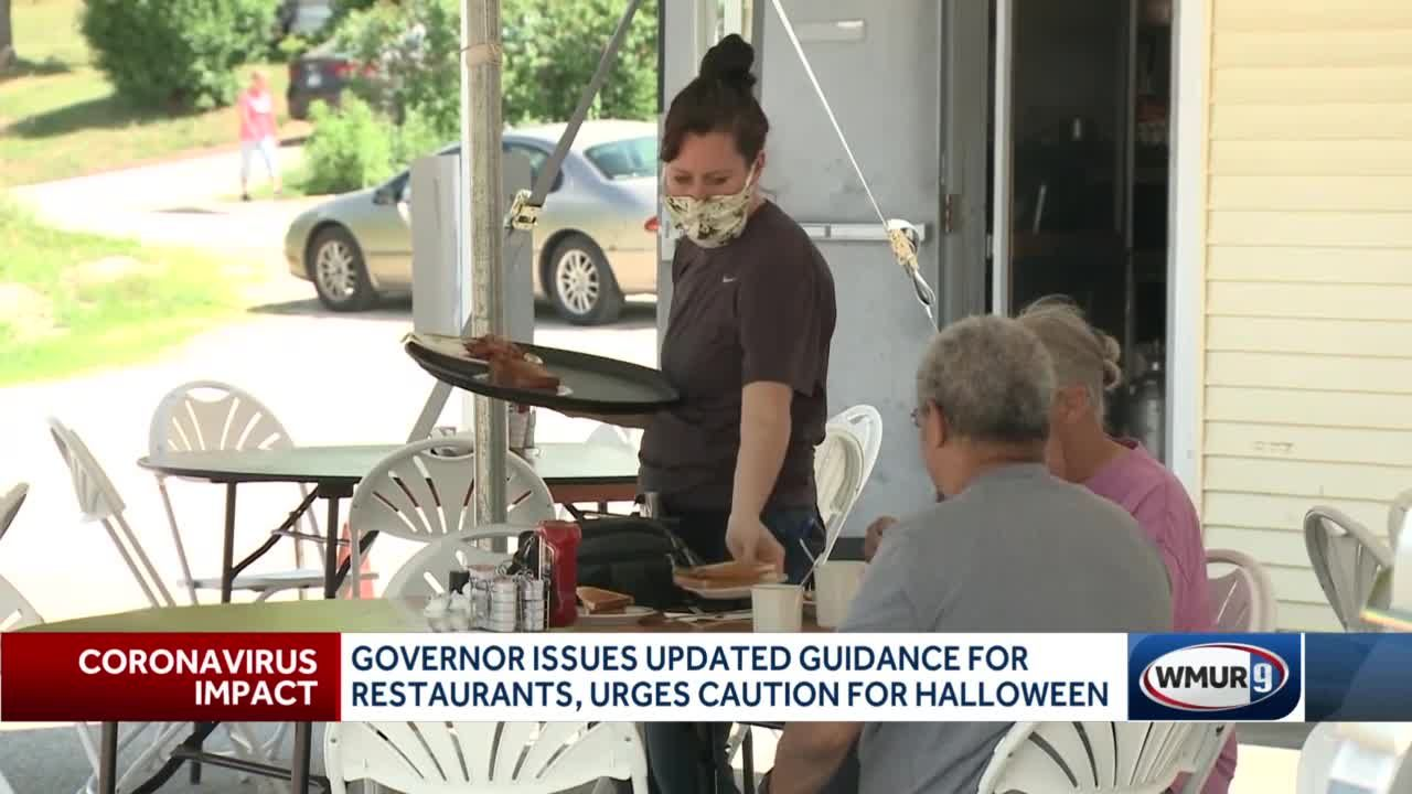 Governor issues updated guidance for indoor dining