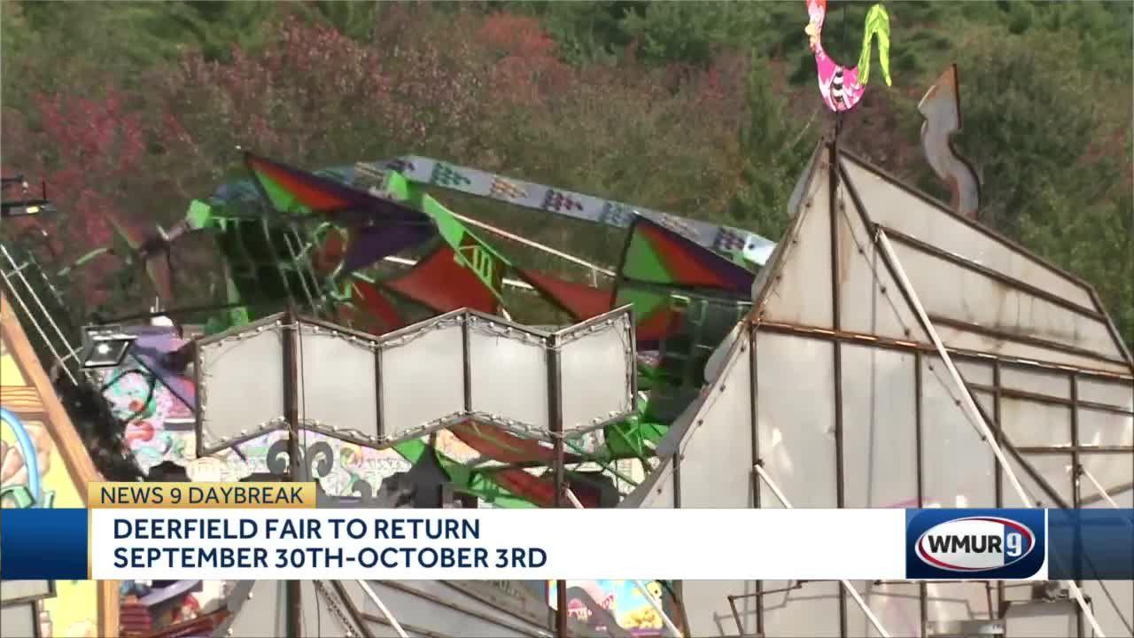 Deerfield Fair to return Sept. 30 through Oct. 3