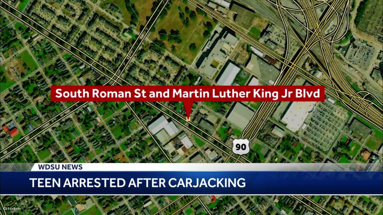 NOPD: 15-year-old arrested after carjacking vehicle with infant inside