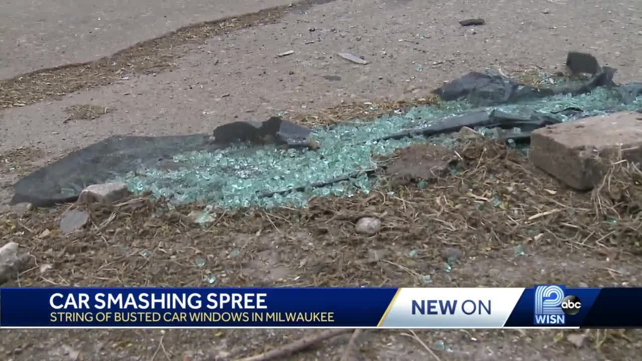 Residents outraged over car vandalism spree