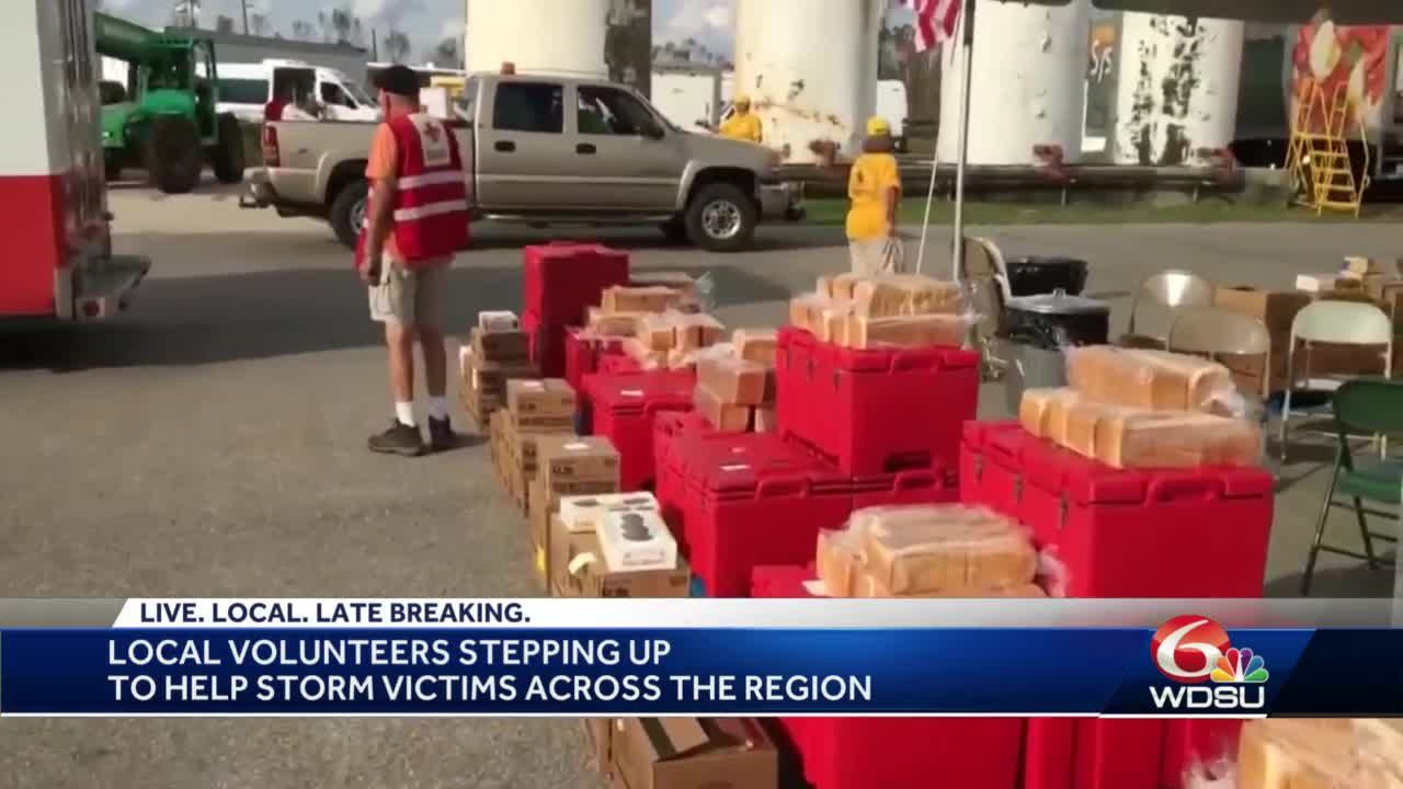 New Orleans Red Cross helping Sally, Laura victims