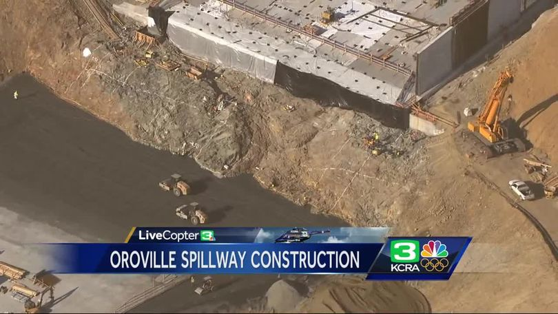 Oroville Dam deadline nears: Here's what the spillway looks like now