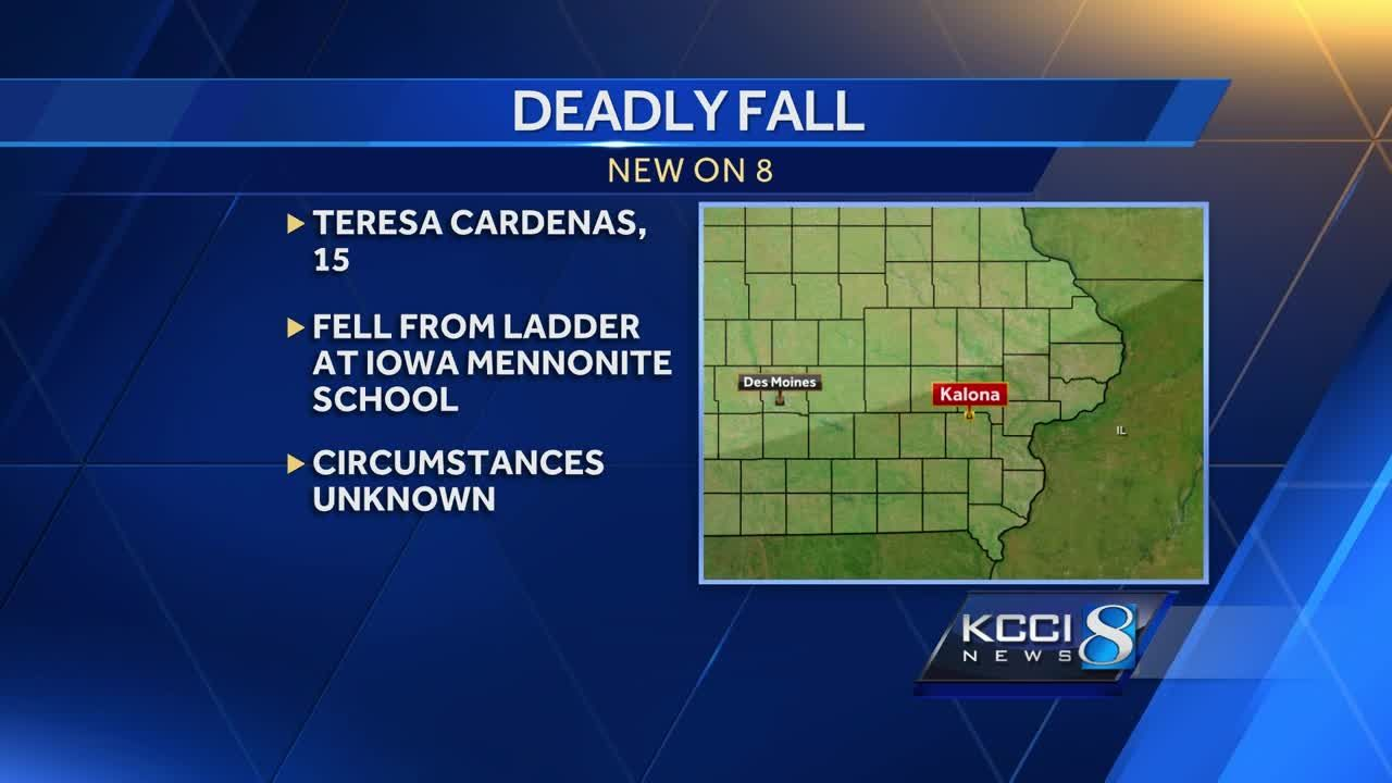 15 Year Old Iowa Girl Dies In Ladder Fall