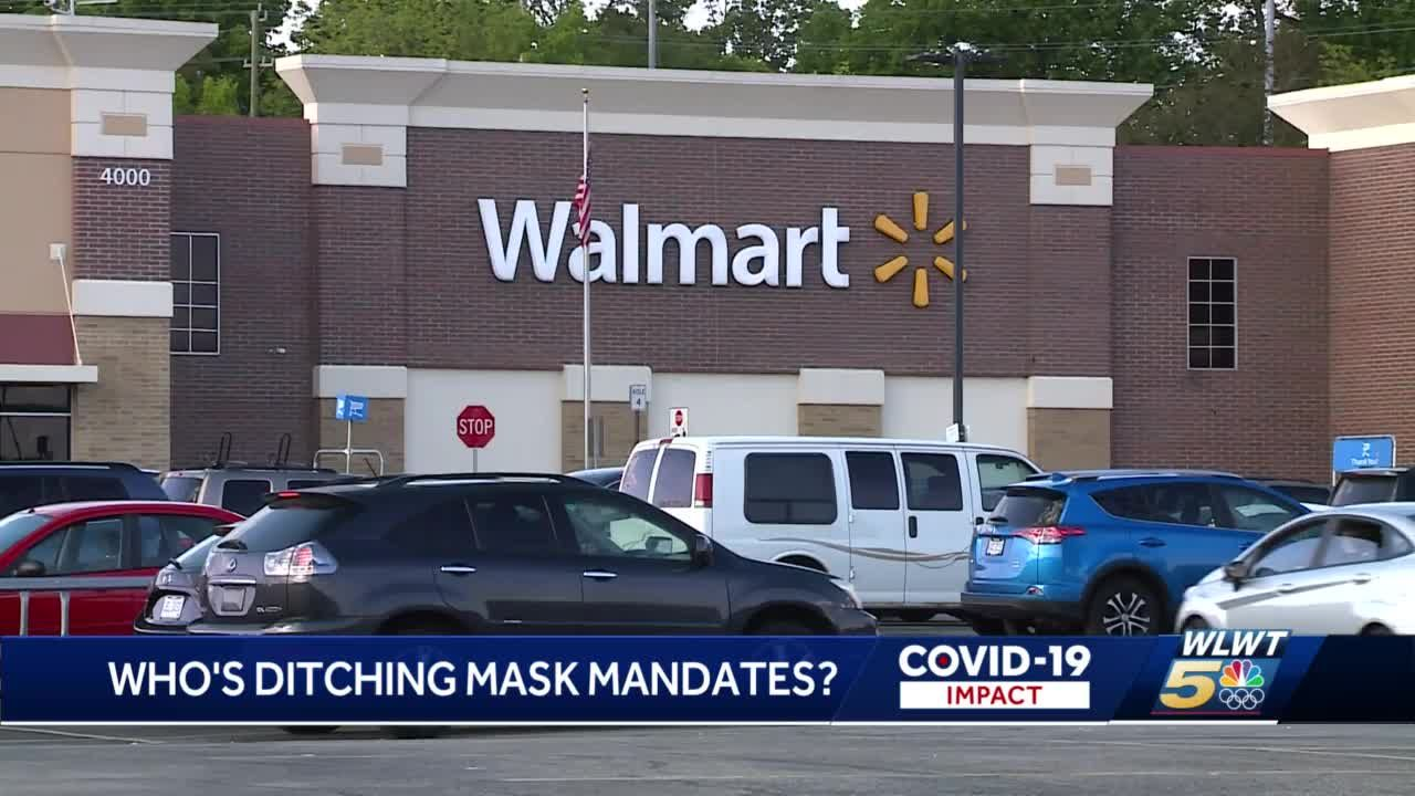 LIST: Who's requiring masks? Who's not? Some Cincinnati stores lift mask policy