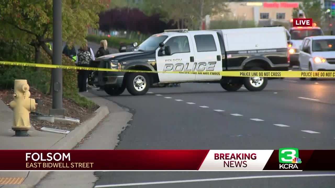 Roads closed in Folsom after deadly crash