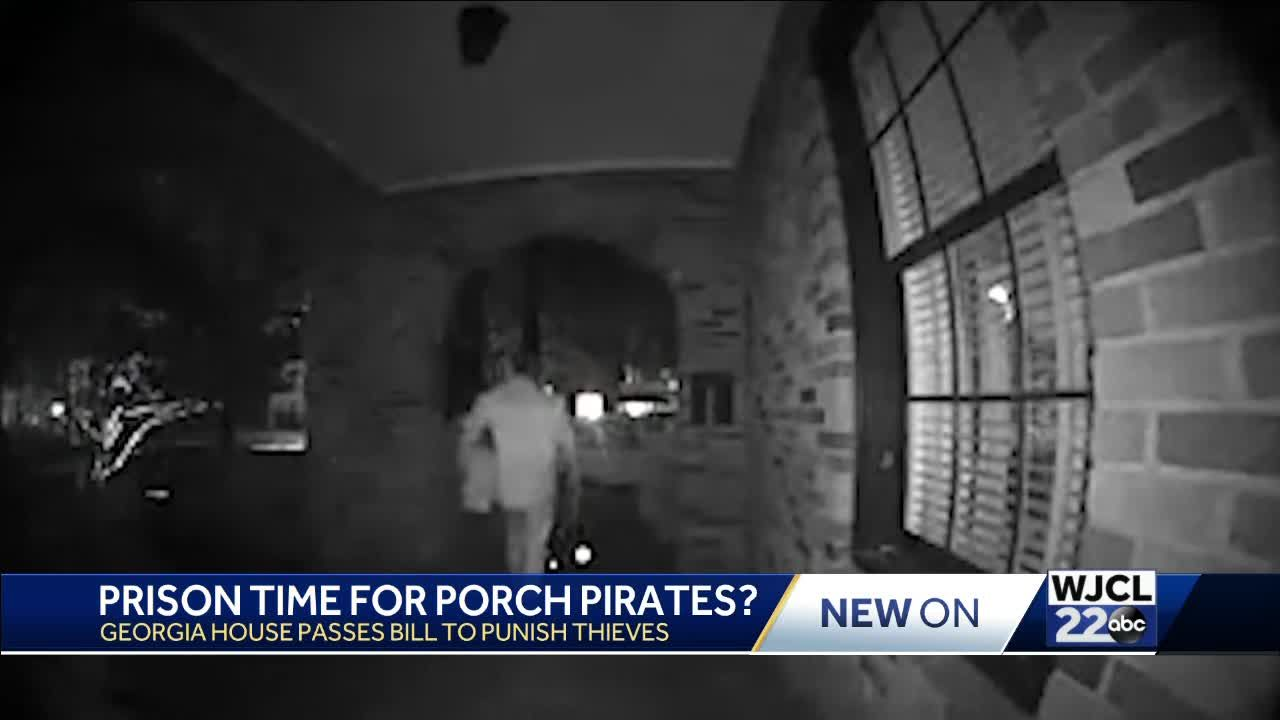 Prison time for porch pirates? Georgians weigh in on controversial bill