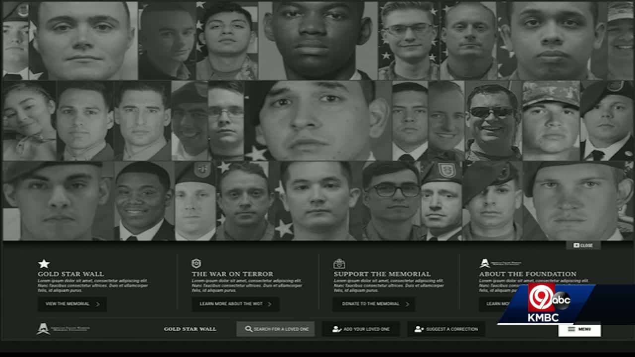 'Remember, honor them': Virtual memorial honoring fallen in War on Terror