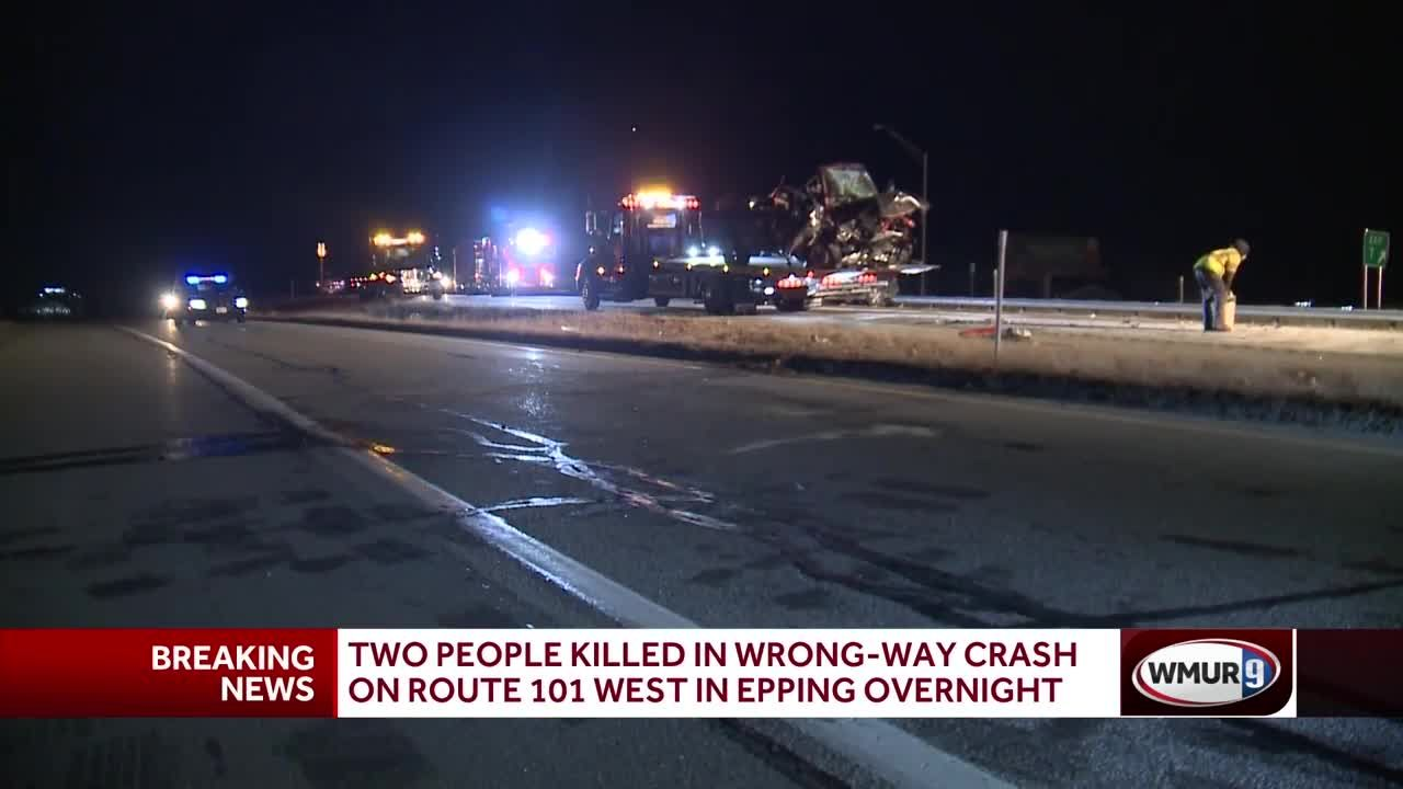 3 cars involved in wrong-way crash on Route 101 West