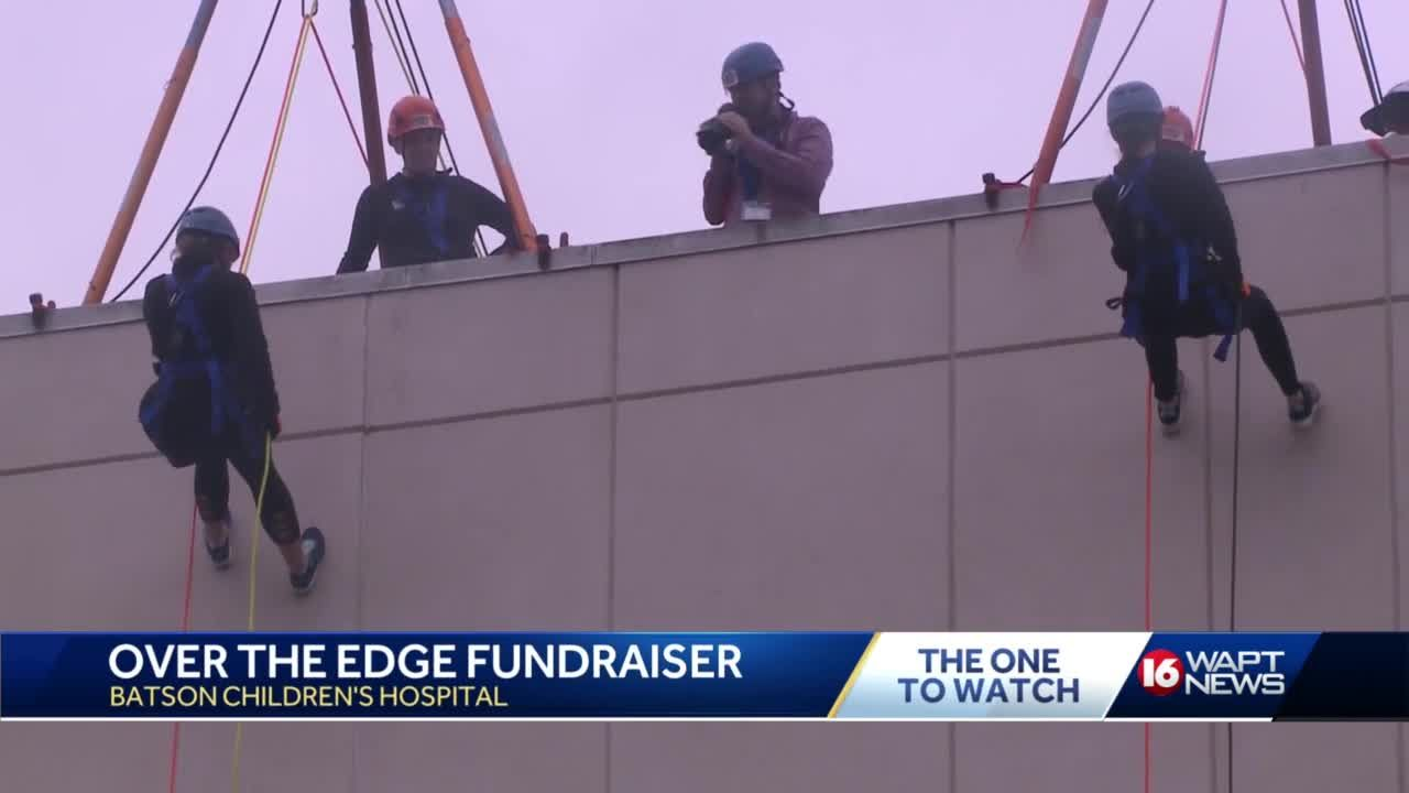 Over the Edge completed this year for children's hospital charity