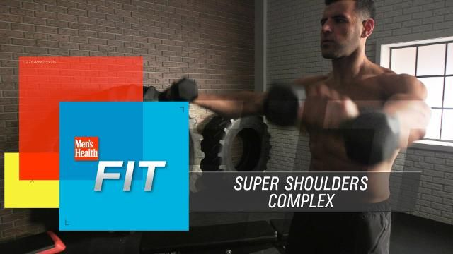 Build Bigger Shoulders With This 10-Minute Workout