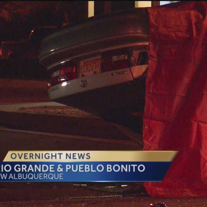 2 killed, 2 hurt in Albuquerque crash