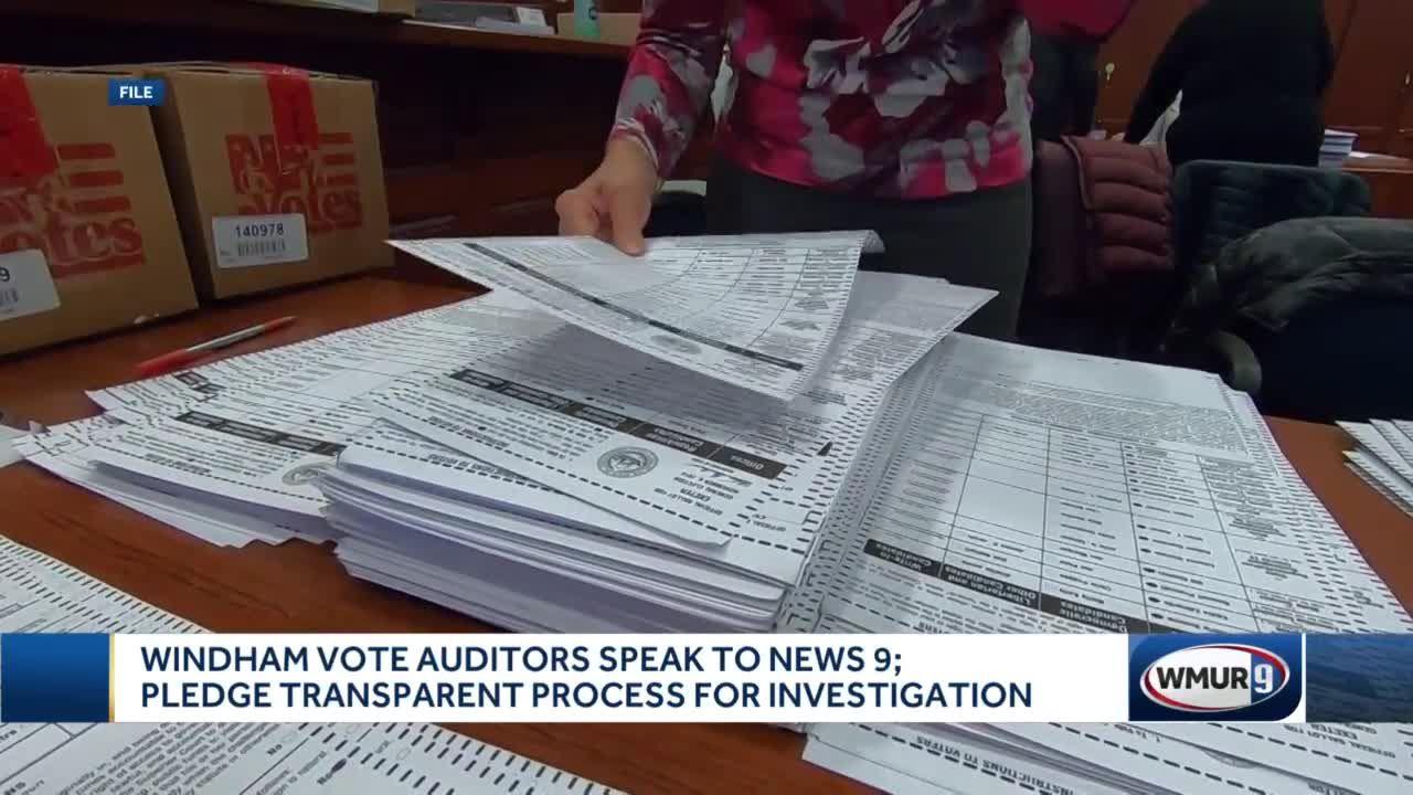 Windham vote auditors pledge transparent process for investigation