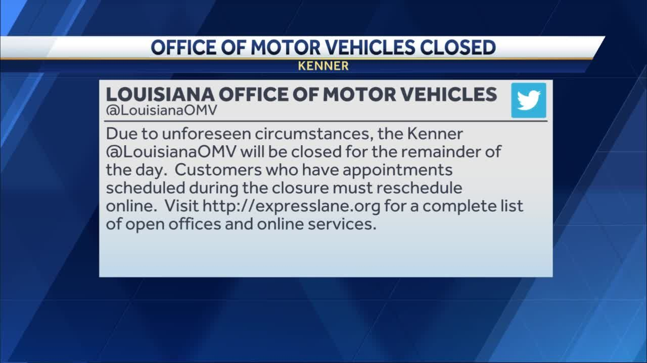 Kenner OMV closed