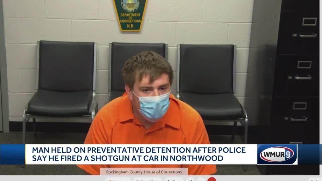 Man held on preventative detention after allegedy firing shotgun at car