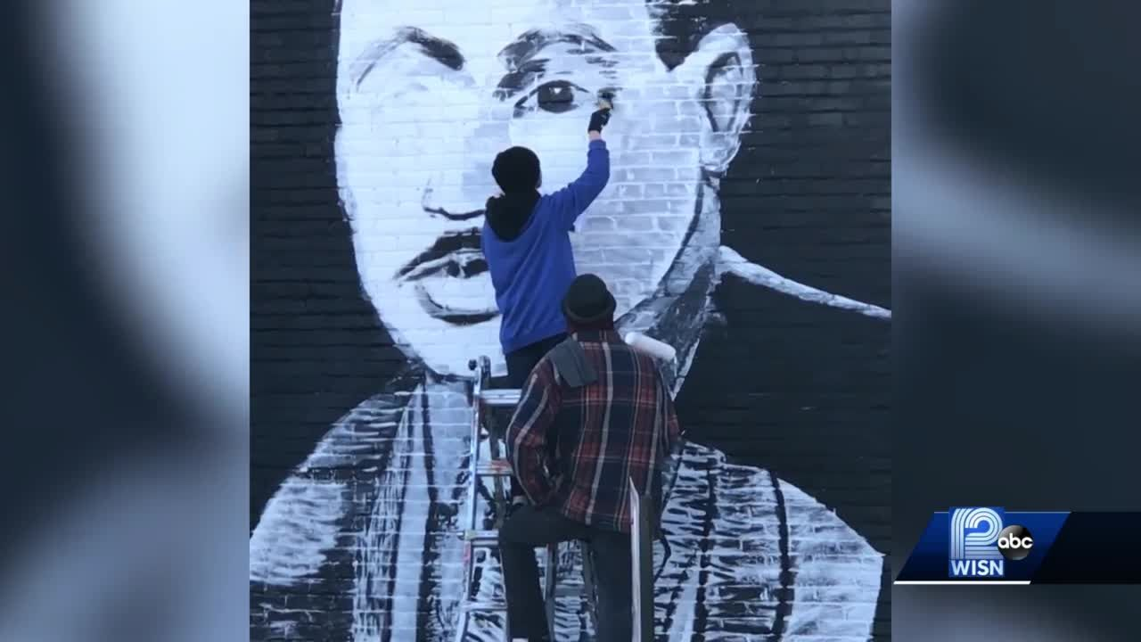 Mural honors Dr. Martin Luther King Jr.